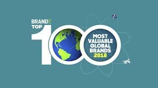 BrandZ Top100 Most Valuable Global Brands 2018 | Countdown