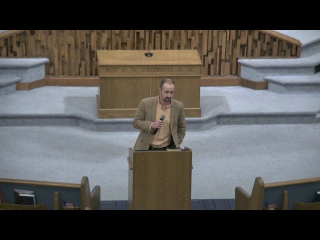 Lesson 13 - Living Expeditiously (Ecclesiastes 12) - Barry Gilreath