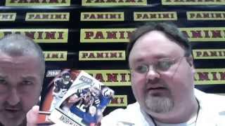 At the National Panini America wrapper redemption packs