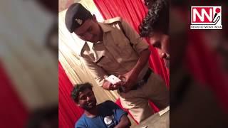 जुआ खेलते आरक्षक का कथित विडियो वायरल, एसएसपी ने किया सस्पेंड | newsnetworkindia.com