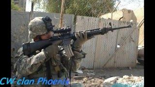 Кв клан ___-ФеНиКс-___ Играю с новой штурмовой винтовкой  M16A3 на КВ.