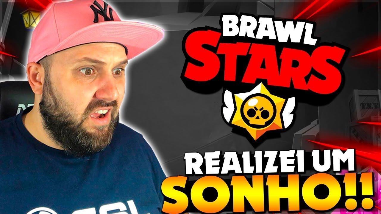 BRUNO CLASH - REALIZEI MEU SONHO!! FINALMENTE PEGUEI 10 MIL TROFÉUS NO BRAWL STARS!!