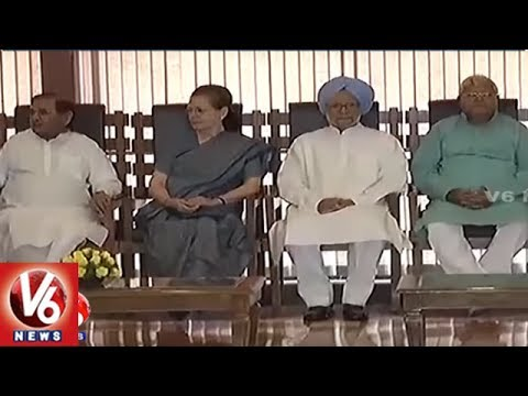 Sonia Gandhi Hosts Lunch For Opposition Leaders | Presidential Elections | V6 News