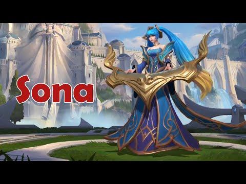Wild Rift Closed Beta: Sona (Support) Gameplay