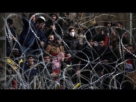 Видео: Кризис в Греции: мигранты не уходят