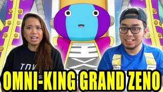 DRAGON BALL SUPER English Dub Episode 55 GRAND ZENO REACTION & REVIEW