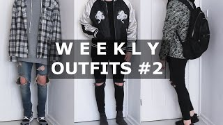 One of Gallucks's most viewed videos: Weekly Outfits #2 | Fear of God, VANS, Y3, ASOS, ACNE STUDIOS | Gallucks