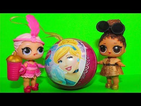 СЮРПРИЗЫ Игрушки Принцессы Мультик про Куклы ЛОЛ Сюрприз Видео для детей LOL Surprise