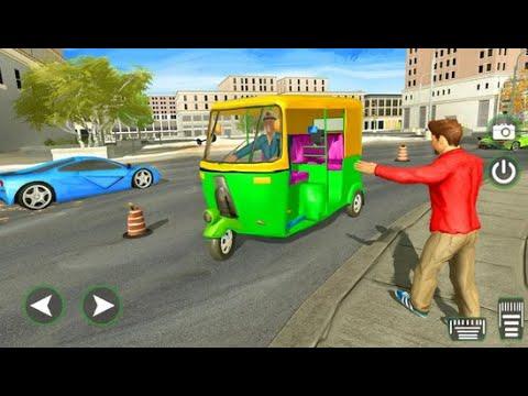 City Tuk Tuk 3D Driving simulator | Tuk Tuk Auto Rickshaw Driver | Android GamePlay FHD