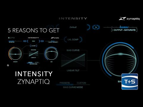 5 Reasons To Get... Zynaptiq Intensity audio processing plug-in