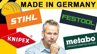 LOHNT MADE IN GERMANY? WAS STECKT HINTER STIHL, FESTOOL, KNIPEX & CO? | WERKZEUG NEWS 141