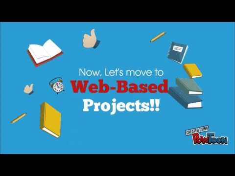 Guided Hypermedia and Web Based Projects