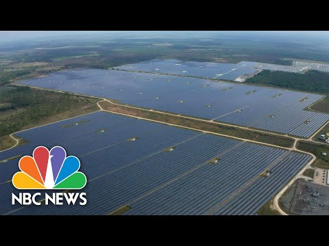 Solar City: Dawn of Solar in the Sunshine State (Part 1) | NBC Nightly News