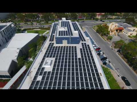 The City of Miami Gardens City Hall Rooftop Solar