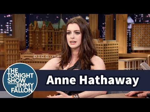 Thumbnail: Anne Hathaway Almost Killed Her Kid on a Jungle Gym Slide