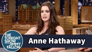 Anne Hathaway Almost Killed Her Kid on a Jungle Gym Slide