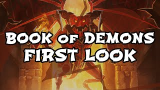 BOOK of DEMONS 1st Look - Papercraft Diablo! [ARPG Dungeon Crawler Gameplay]