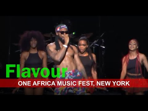 FLAVOUR LIVE MUSIC PERFORMANCE | One Africa Music Fest, New York 2017.