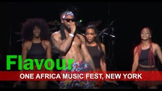 FLAVOUR LIVE MUSIC PERFORMANCE   One Africa Music Fest, New York 2017.
