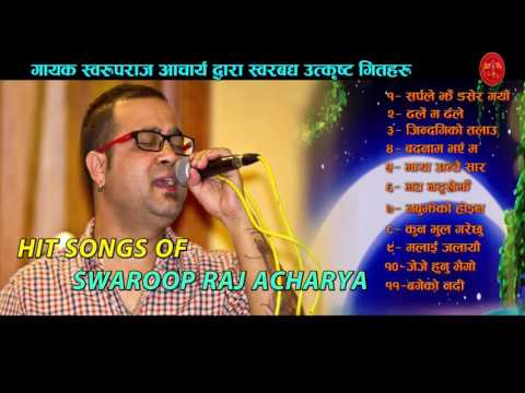 Swaroop Raj Acharya Best Songs from Bindabasini Music || Audio Jukebox || Volume - 2 || 2073