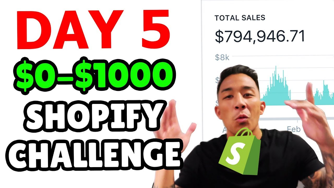 ???? DAY 5 | SHOPIFY DROPSHIPPING CHALLENGE | CREATING FACEBOOK PAGE, IMAGE AD, VIDEO AD, & AD C