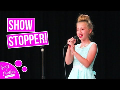 9 YEAR OLD STUNS CROWD WITH