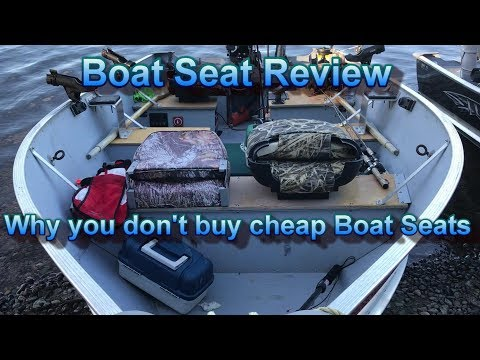 Boat Seat Review.  Why You Don't Buy Cheap Boat Seats