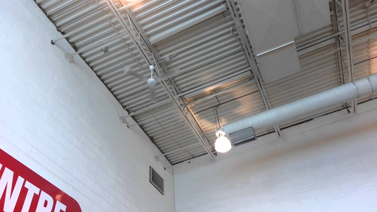 Canarm cp56 industrial ceiling fan youtube aloadofball Image collections