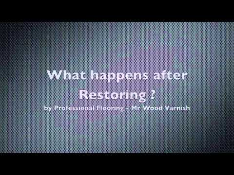 How bad conditions before need to change 20yrs old parquetry wood flooring? Click to find out..