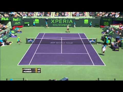Murray Anticipates Ferrer In Miami Final Hot Shot