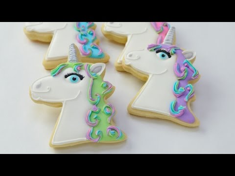 Unicorn Cookies Haniela S Youtube