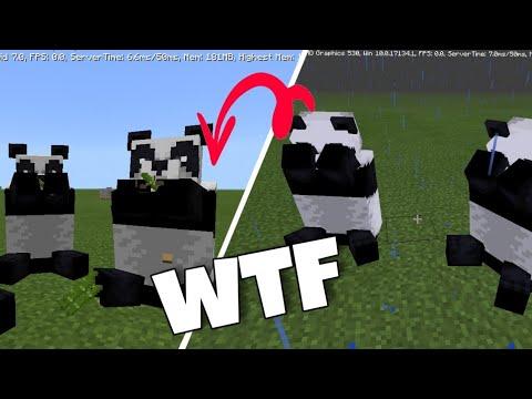 ПОЧЕМУ панды ПЛАЧУТ В Minecraft Pe 1.16, Майнкрафт Пе 1.16