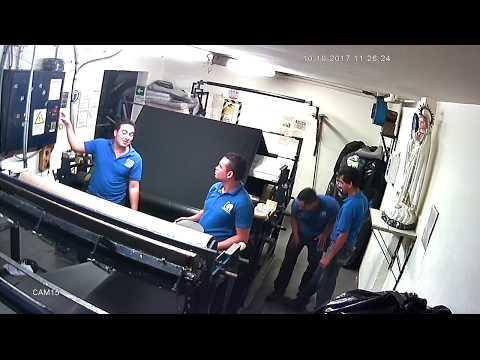 electrocutado en fabrica  video gracioso