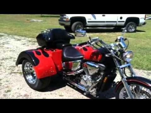 Honda Of Greer >> 1999 Honda Shadow Trike Custom in Greer, SC - YouTube