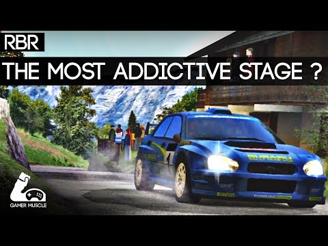 THE MOST ADDICTIVE RALLY STAGE EVER MADE ? - RBR -  VR - DIRT NOT NEEDED ;)