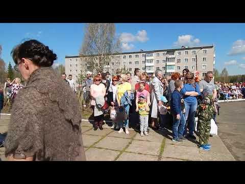 Омутнинский район. Жители Восточного отметили День Победы
