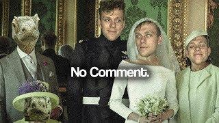 Royal wedding? No comment.