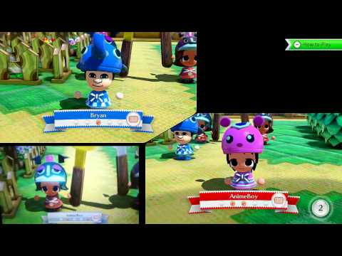 NintendoLand: Playing Animal Crossing:Sweet Day!! HD