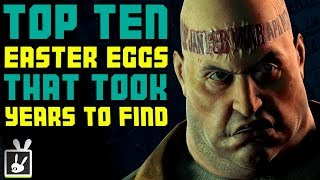 Top Ten Video Game Easter Eggs That Took Years to Find