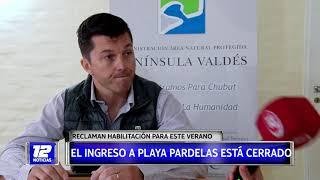 Península Valdés: situación de Playa Pardelas