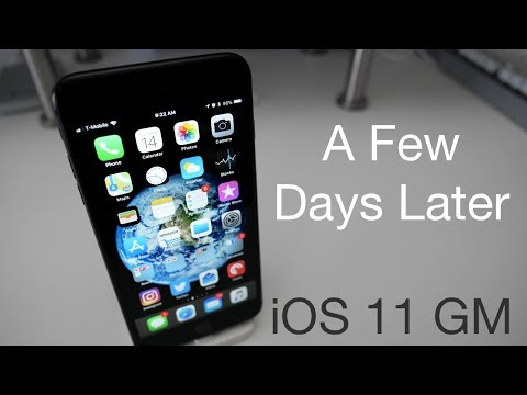iOS 11 GM - A Few Days Later / How to Install The Final Version