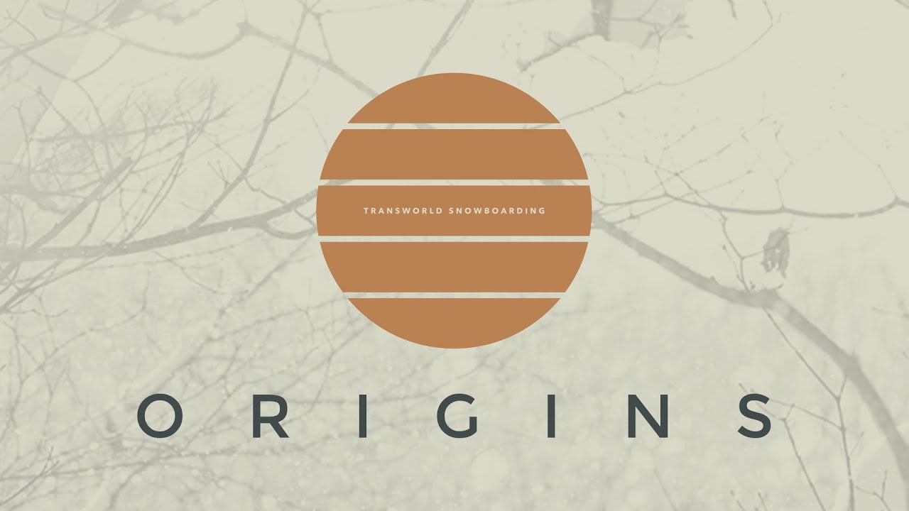 TransWorld SNOWboarding presents ORIGINS teaser