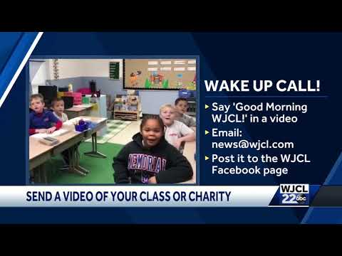 Memorial Day School gives WJCL wake up call Tuesday