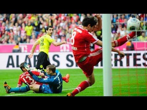 Henrikh Mkhitaryan vs Bayern Munchen (A) 13-14 HD 720p by AEA7HD
