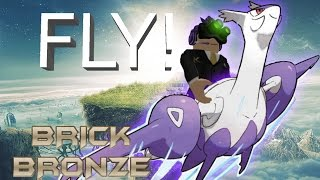 Roblox: Pokemon Brick Bronze - I CAN FLY! - New Update!