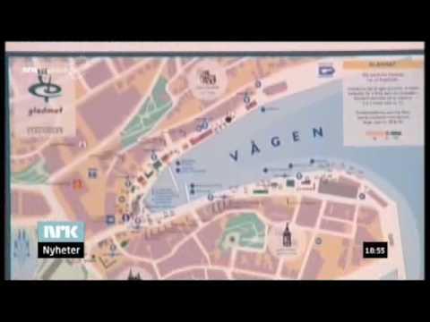 City Map Stavanger Norway