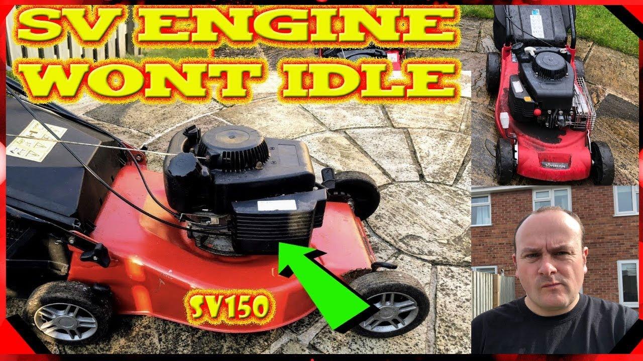 Petrol Lawnmower Hunting And Surging- Help And Repair