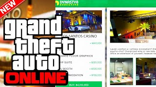 GTA Online Casino DLC Property Info Interior Customization Pricing More GTA 5 Online DLC