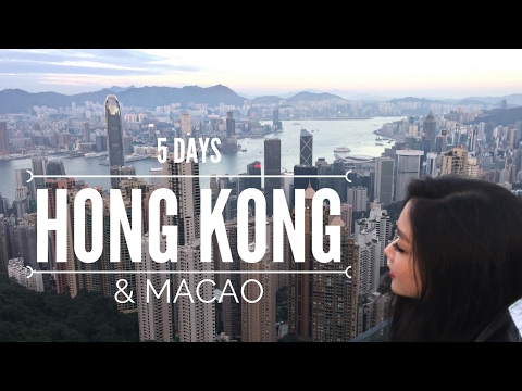 Hong Kong & Macao | 5 Days Travel Diary | by @mariethuy