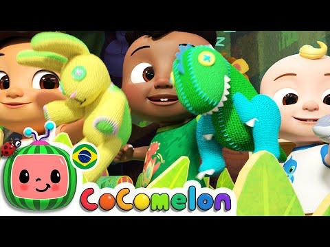 CoComelon em Português   Canção do olá   Músicas Infantis   Desenhos Animados